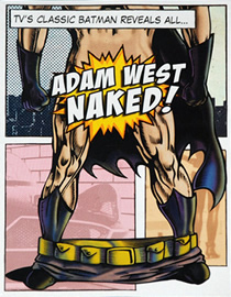 Adam West Naked