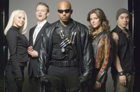 Blade TV series cast