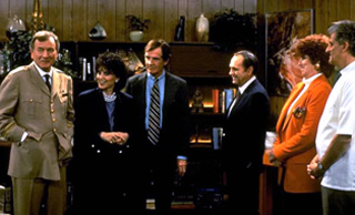 The Bob Newhart Show cast reunited