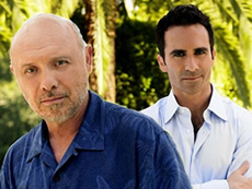 Hector Elizondo and Nestor Carbonell