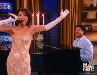 Connie Chung sings