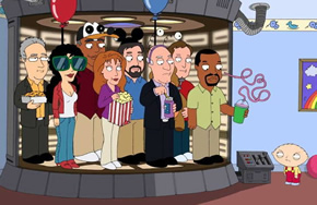 Star Trek: The Next Generation on Family Guy