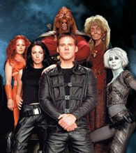 The cast of Farscape