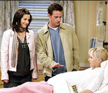 Friends finale birth