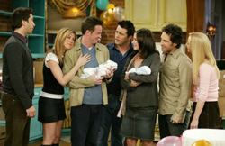 Friends finale - new parents