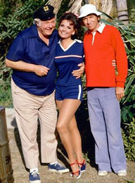 Skipper, Mary Ann and Gilligan