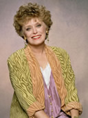 Rue McClanahan as Blanche on The Golden Girls