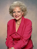 Betty White as Rose on The Golden Girls
