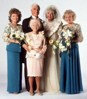 The Golden Girls wedding party