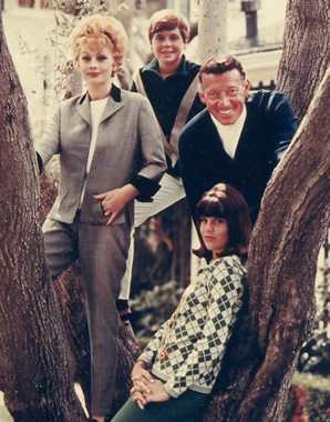 Lucille Ball family