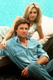 Jake and Amanda from Melrose Place