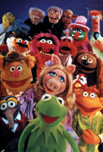 Kermit and the cast of The Muppet Show