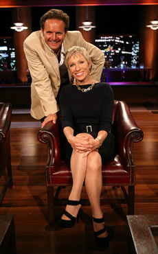 Barbara Corcoran and Mark Burnett