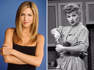 Friends and I Love Lucy