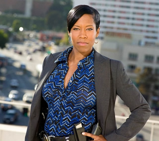 Regina King on Southland