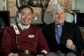 George Takei as Sulu?