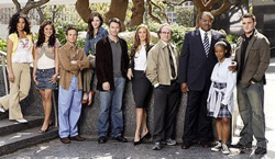 The cast of The Nine on ABC