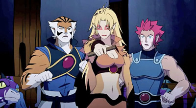 Thundercats Characters on New Thundercats
