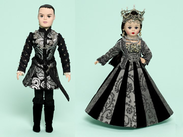 The Tudors dolls