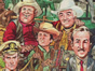 See <em>MAD</em> Artist Jack Davis' Illustrations of NBC's 1965-66 Season for TV Guide