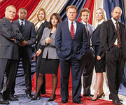 Part of The West Wing cast