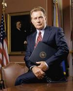 President Jed Bartlet played by Martin Sheen
