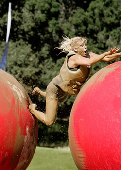 re in luck. ABC has renewed the Wipeout game show for a fourth season