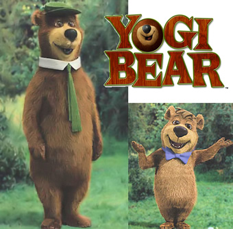 CGI Yogi and Boo-Boo