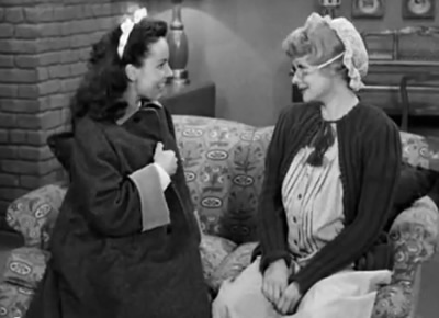Janet Waldo on I Love Lucy