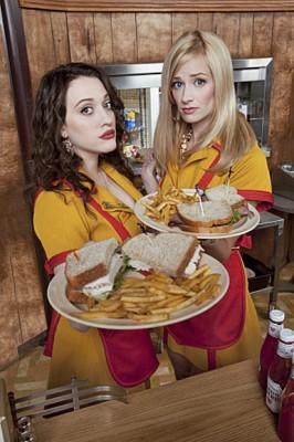 2 Broke Girls TV series