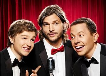 Two and a Half Men Ashton Kutcher ratings