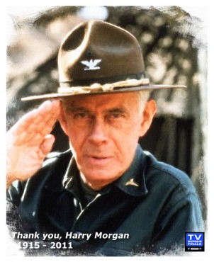 Harry Morgan from MASH