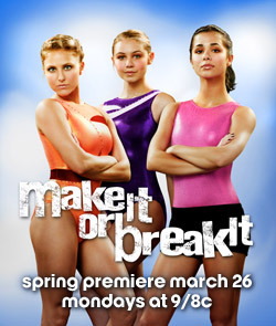 Make It or Break It season three