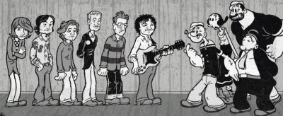 Popeye Wilco cartoon
