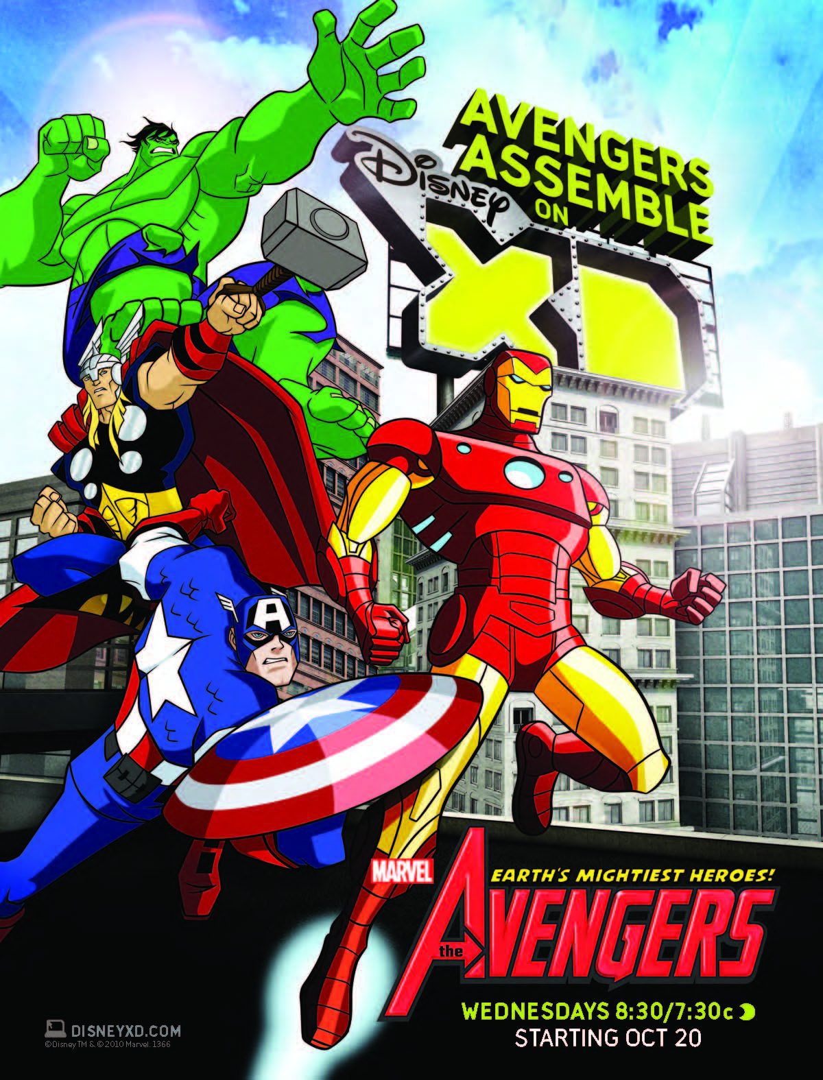 Avengers earth 39 s mightiest heroes canceled no season three - Heros avengers ...