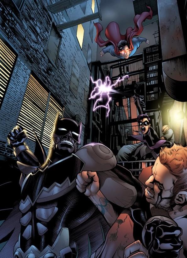 Batman comes to Smallville