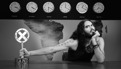 TV ratings for BrandX with Russell Brand on FX