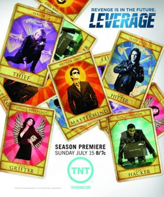 Leverage on TNT season five ratings
