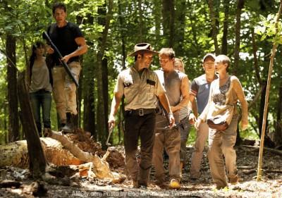 Walking Dead season three on AMC