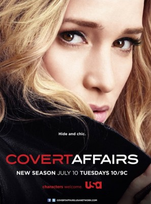 season three ratings for Covert Affairs on USA