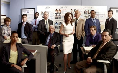 Major Crimes TV series on TNT