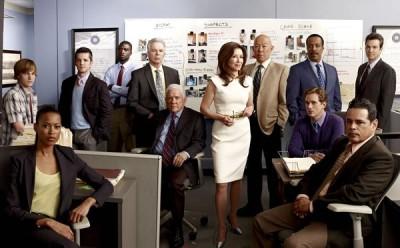 Major Crimes TV series on TNT