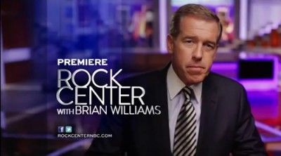 NBC TV series Rock Center with Brian Williams