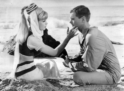 i dream of jeannie - Larry Hagman's death