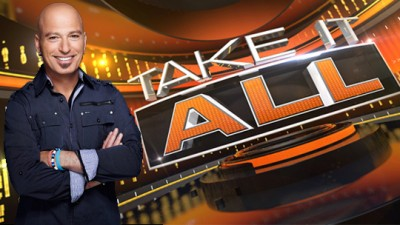 Take It All game show with Howie Mandel on NBC