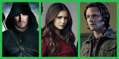 Arrow Vampire Diairies Supernatural renewed