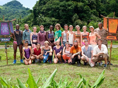 Survivor Fans vs Favorites ratings