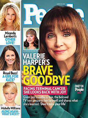 Valerie Harper dying