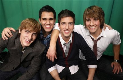 Big Time Rush season four -- Kendall Schmidt, James Maslow, Logan Henderson, Carlos Pena