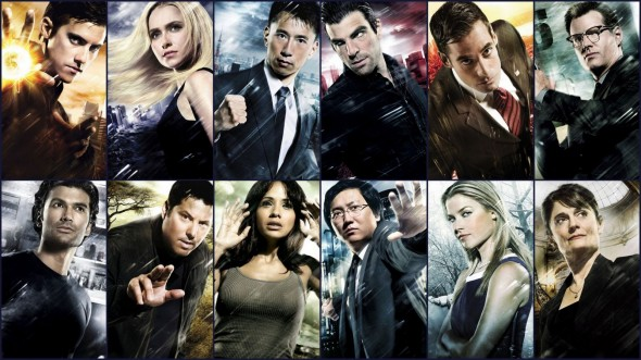 Heroes TV show comic book